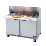 "Beverage Air SPE36-15M 36"" Sandwich/Salad Prep Table w/ Refrigerated Base, 115v"