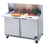 "Beverage Air SPE4810 48"" Sandwich/ Salad Prep Table w/ Refrigerated Base, 115v"