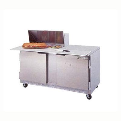 "Beverage Air SPE60-08C 60"" Sandwich/Salad Prep Table w/ Refrigerated Base, 115v"