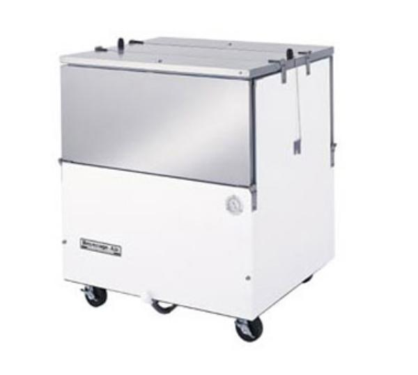Beverage Air ST34N-W Milk Cooler w/ Top & Side Access - (512) Half Pint Carton Capacity, 115v