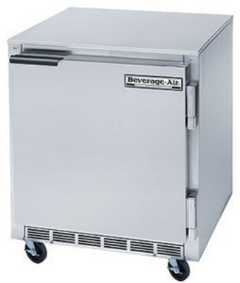 Beverage Air UCF27-23 6.2-cu ft Undercounter Freezer w/ (1) Section & (1) Door, 115v