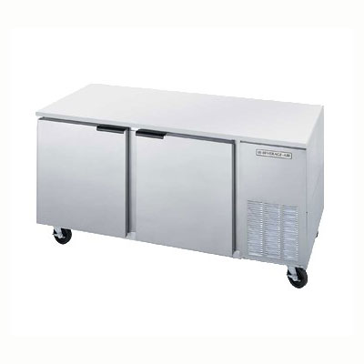 Beverage Air UCF67A 19.21-cu ft Undercounter Freezer w/ (2) Sections & (2) Doors, 115v