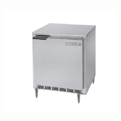 Beverage Air UCR27Y 6.2-cu ft Undercounter Refrigerator w/ (1) Section & (1) Door, 115v