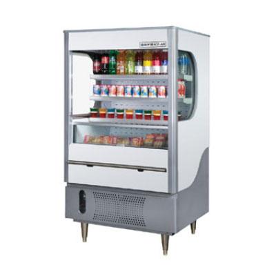 """Beverage Air VM12-1-G 35"""" Vertical Open Air Cooler w/ (4) Levels, 115v"""