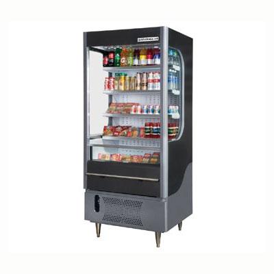 """Beverage Air VM7-1-G 35"""" Vertical Open Air Cooler w/ (5) Levels, 115v"""