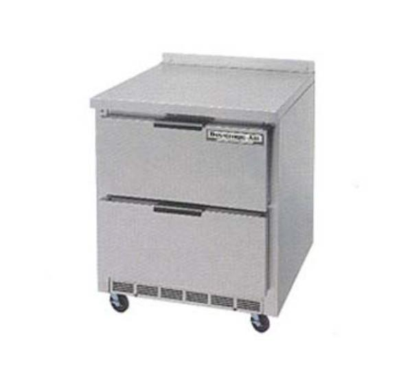 "Beverage Air WTRD27A-2 27"" Work Top Refrigerator w/ (1) Section & (2) Drawers, 115v"