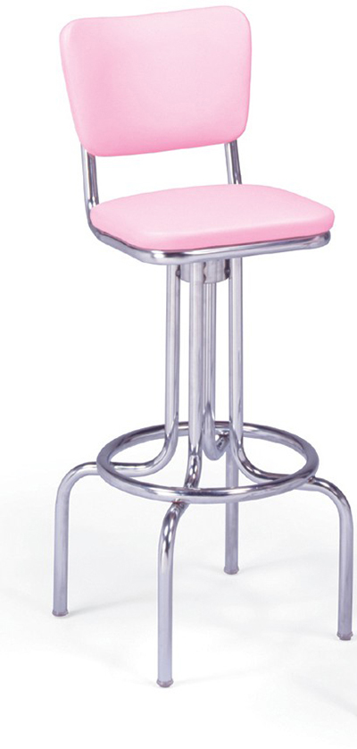 Vitro 264921 Bar Stool Revolving Seat Amp Back Chrome