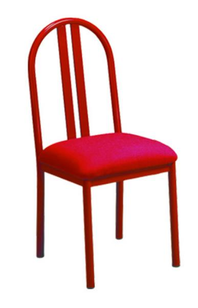 Vitro DSPS Omni Series Chair, Double Slat Back, Metal Frame