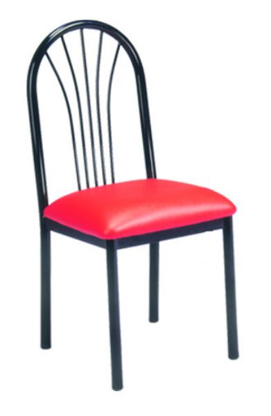 Vitro FBPS Omni Series Chair, Fanback, Metal Frame