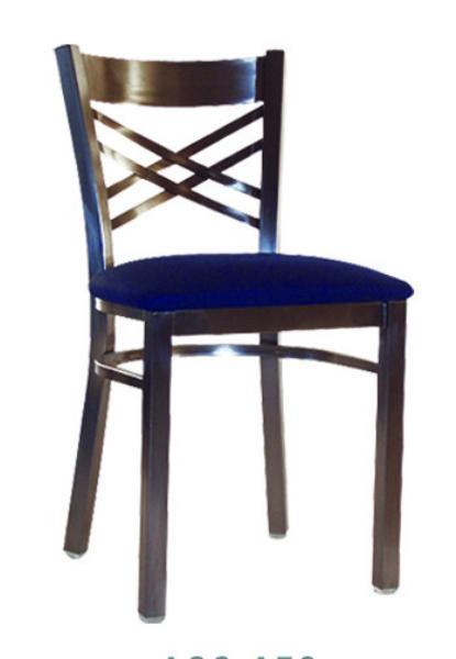 Vitro LSC450 Legend Series Chair, Cross Strap Back, Metal Frame