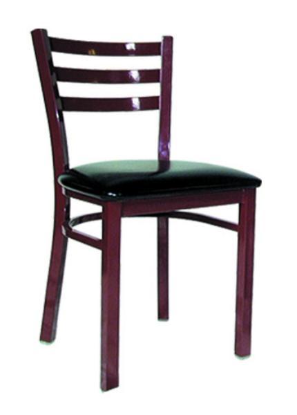 Vitro LSC750 Legend Series Chair, 3 Rung Ladder Back, Metal Frame