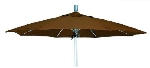 Vitro MLU-7-OCT 70 5913 Octagonal Umbrella, 7-ft High w/ Platinum Pole, Bay Brown