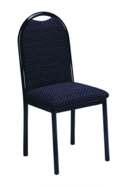 Vitro PBPS Omni Series Chair, Plain Back, Metal Frame