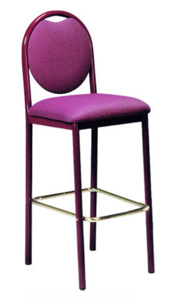 Vitro Rbbsps Omni Series Bar Stool Round Back Metal Frame