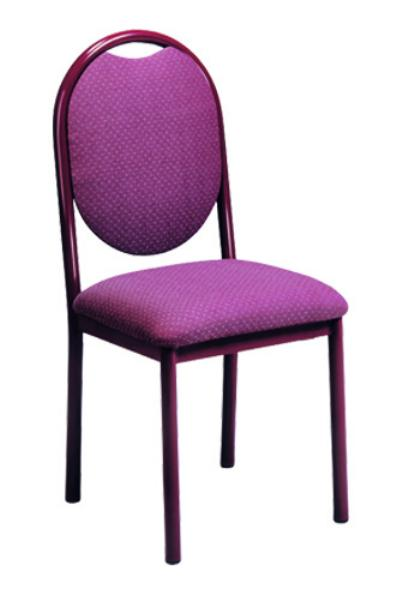 Vitro RBPS Omni Series Chair, Round Back, Metal Frame