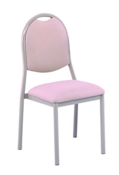 Vitro SSBPS Spectrum Series Chair, Smooth Back, Metal Frame, Stacks