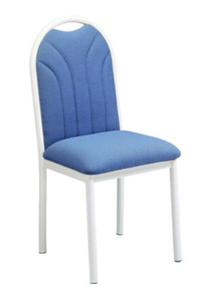 Vitro UFBPS Omni Series Chair, Upholstered Fanback, Metal Frame