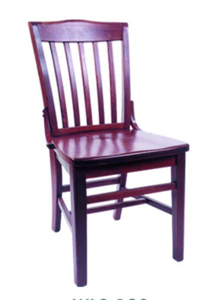 Vitro WLS180 Woodland Series Chair, School House, Wood Seat, Wood Frame