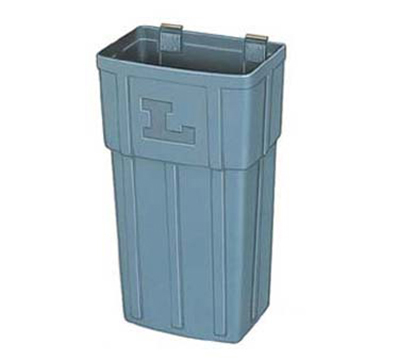 Lakeside 206-4 Jumbo Waste Basket, Plastic, Gray