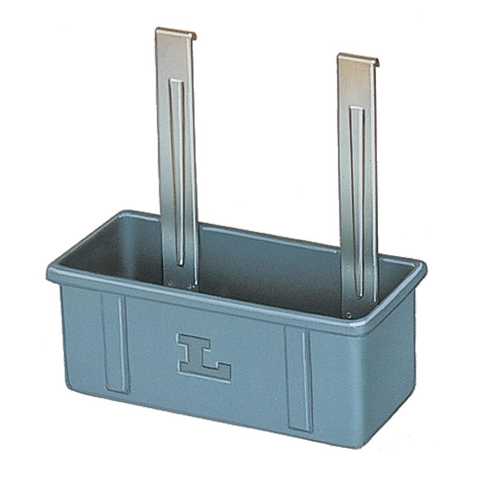 Lakeside 208-6 Silver/Flatware Box w/ Hanger Straps, Poly...