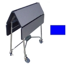"Lakeside 416 ROYBL 36"" Square Table Room Service Cart, Royal Blue"