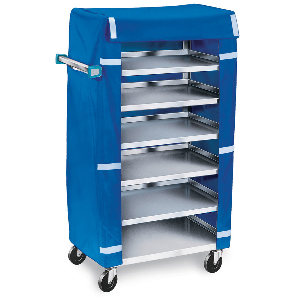 """Lakeside 437 30.75"""" Room Service Cart w/ 6 Levels & Cover"""