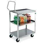 "Lakeside 4411 27.63"" Queen Mary Cart w/ 3 Levels, 500-lb Capacity"