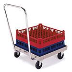 Lakeside 450 Single Stack Platform Rack Dolly w/ Push Handle, 200-lb Capacity