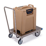 Lakeside 454 Platform Truck w/ Single Handle & Casters, 20 x 30-in, 650-lb Capacity