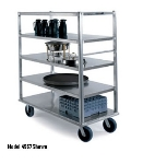 "Lakeside 4565 66"" Queen Mary Cart w/ 4 Levels, 2500-lb Capacity"