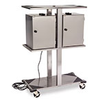 Lakeside 696 Food Carrier Box Storage Rack, Accommodates 6-Electrical Boxes