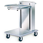 "Lakeside 820 Mobile Cantilever Tray Dispenser w/ Self-Leveling, 20 x 20"" Trays"