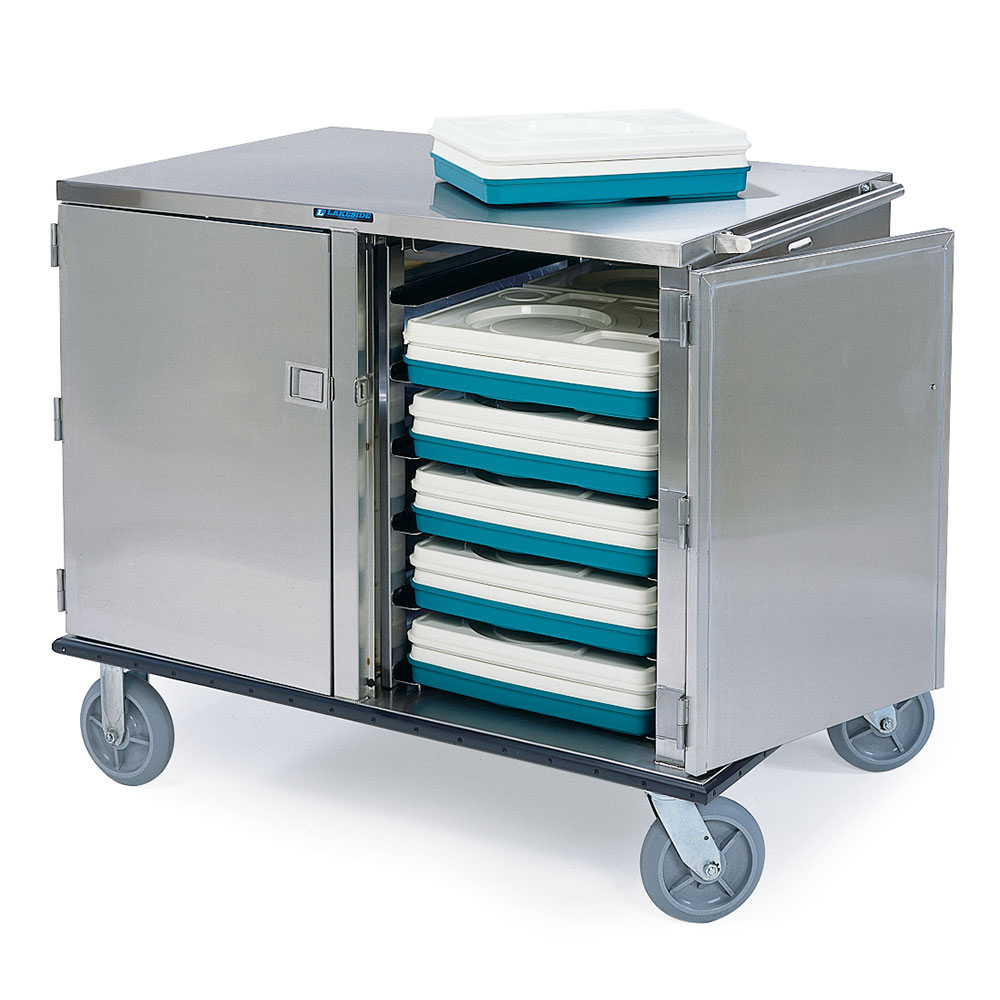 Lakeside 835 24-Tray Ambient Meal Delivery Cart
