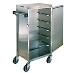 Lakeside 854 6-Tray Ambient Meal Delivery Cart