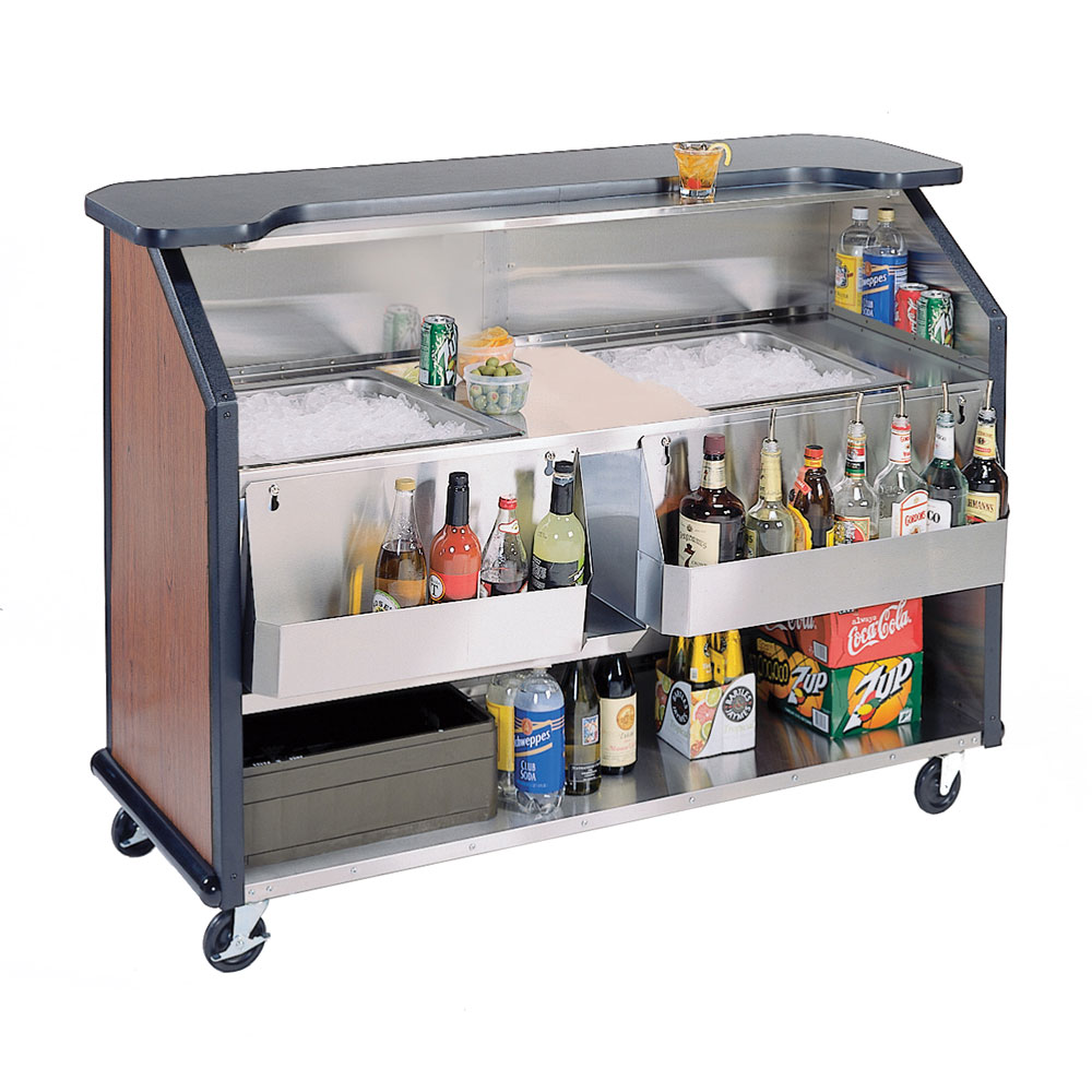 Lakeside 886 Vcher 63 5 Quot Portable Bar W 2 40 Lb Ice Bin