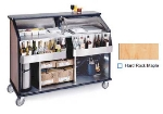 "Lakeside 889 HRMAP 63.5"" Portable Bar w/ 70-lb Ice Bin, Speed Rail, Hard Rock Maple"