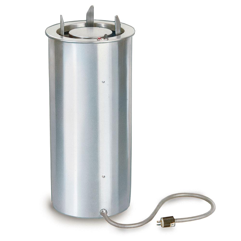 "Lakeside 924 240 9.75"" Heated Drop-In Dish Dispenser w/ Self-Leveling Tube, 240 V"