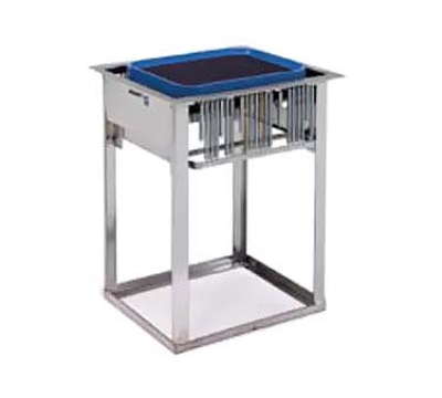 Lakeside 976 Drop-In Tray Dispenser w/ Self-Leveling Tube, (150) 14 x 18""