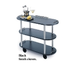 Lakeside 36200 Oval Dessert Cart w/ Multi-Tiered Design