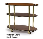 Lakeside 36304 Oval Dessert Cart w/ Multi-Tiered Design