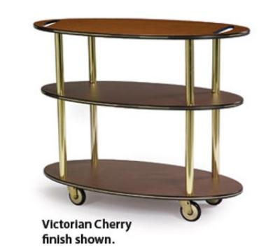 Lakeside 36304 Oval Dessert Cart w/ Multi-Tiered Design