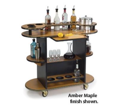 Lakeside 37210 Oval Dessert Cart w/ Multi-Tiered Design