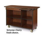 """Lakeside 68115 57.5"""" Wood Composite Service Cart w/ Drawer & Pull-Out Shelf"""