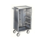 Lakeside 790 Enclosed Bus Cart w/ (4) 16 x 22-in Shelves, 500-lb Capacity