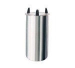 500825 8-1/8-in Round Drop-In Dish Dispenser w/ Self-Leveling Tube, ADA
