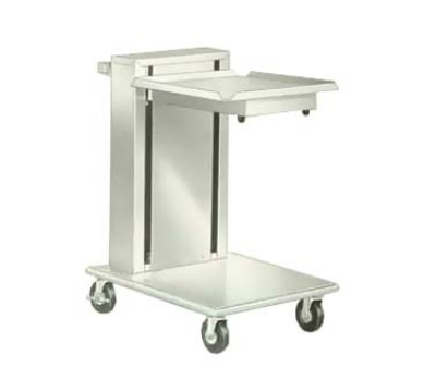 """Lakeside 820 Mobile Cantilever Tray Dispenser w/ Self-Leveling, 20 x 20"""" Trays"""