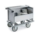 "Lakeside 705 2-Column Store N Carry Dish Truck w/ (100) 9"" Plate Capacity"
