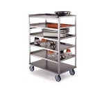 Lakeside 433 Open Tray Truck w/ (6) 21 x 35-in Shelves, 500-lb Capacity