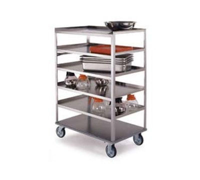 "Lakeside 445 36.38"" Queen Mary Cart w/ 4 Levels, 500-lb Capacity"
