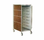 Lakeside 652 WAL 20-Tray Ambient Meal Delivery Cart